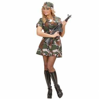 Kostuum soldaat jurkje