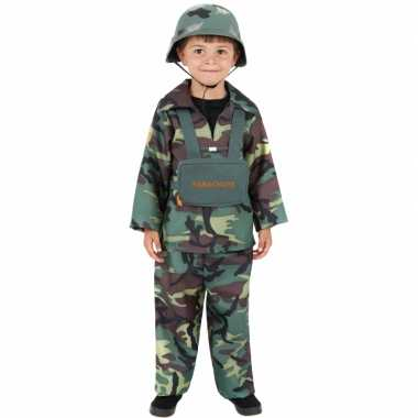 Kostuum soldaat kinderen