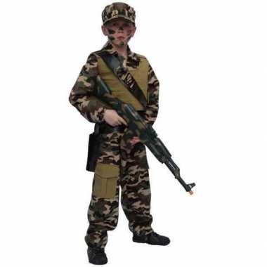 Kostuum soldaat kostuum kind