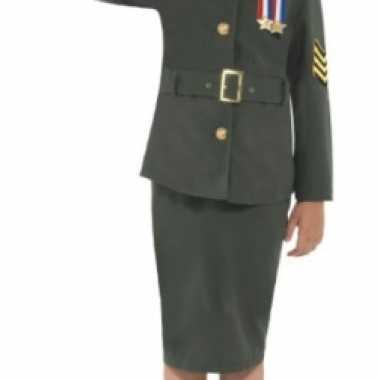 Soldaat uniform voor meisjes