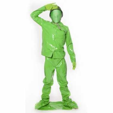 Speelgoed soldaat kids kostuum